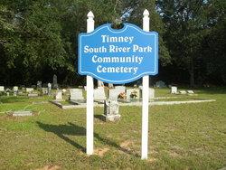 Timney South River Park Community Cemetery
