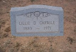 Lillie Nora <I>Daugherty</I> Carwile