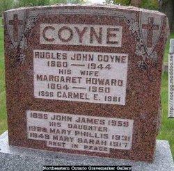 Margaret <I>Howard</I> Coyne