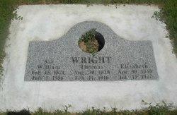 Elizabeth Ann <I>Newman</I> Wright