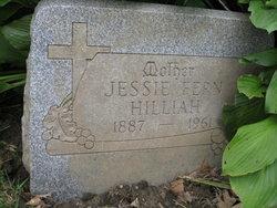 Jessie Fern <I>Barnhart</I> Hilliah