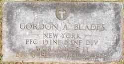 PFC Gordon A Blades, Jr
