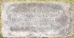 TSGT Henry E Brandt