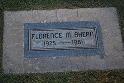 Florence M. Ahern