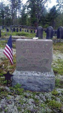 Ellen Maria <I>Parker</I> Kidder