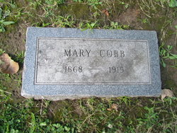 "Mary C. ""Mollie"" <I>Phelps</I> Cobb"