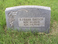 Benjamin Frank Batson