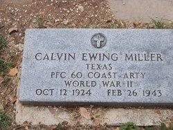 PFC Calvin Ewing Miller
