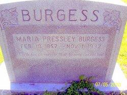 Maria Pressley Burgess