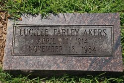 Elbertie Lucille <I>Farley</I> Akers