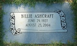 Billie <I>Gatewood</I> Ashcraft