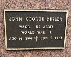 John George Desler