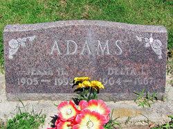 Delta Lou <I>Lewis</I> Adams