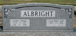 Andrew Thomas Albright, Jr