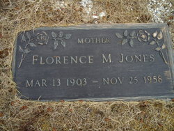 Florence M <I>Pangborn</I> Jones