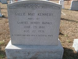 Sallie May <I>Kennedy</I> Banks