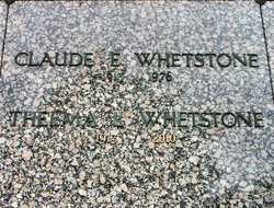 Claude Emery Whetstone