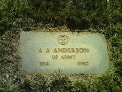 A A Anderson