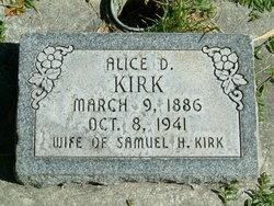 Alice Adelia <I>Dittmore</I> Kirk