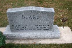 Marjorie Ann <I>Schuldt</I> Blake