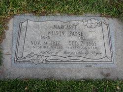 Margaret <I>Wilson</I> Payne