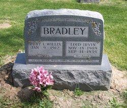 Ruby L <I>Willis</I> Bradley
