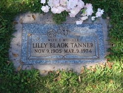 Lilly <I>Black</I> Tanner
