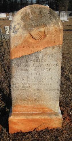 Frances Adella <I>Burks</I> Adamson