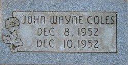 John Wayne Coles