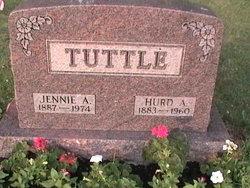 Jennie A <I>Scholl</I> Tuttle
