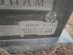 John Alexander Dixon Steadham
