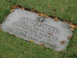 Corp Alvin J Avant