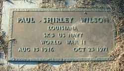 Paul Shirley Wilson
