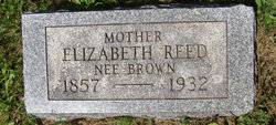 Elizabeth <I>Brown</I> Reed