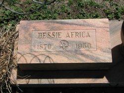 Bessie Belle <I>Ellsworth</I> Africa