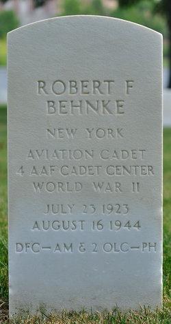Sgt Robert F Behnke