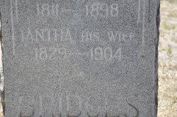 """Iantha Jane """"Jancy"""" <I>Robison</I> Bridges"""