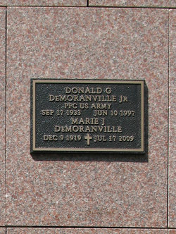 Donald G Demoranville, Jr