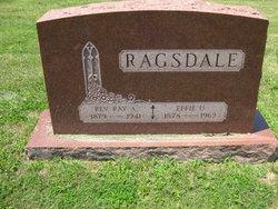 Effie W <I>Underwood</I> Ragsdale