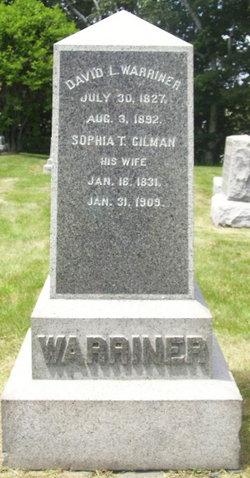 Sophia T. <I>Gilman</I> Warriner