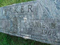 Carrie Belle <I>Loehr</I> Baker