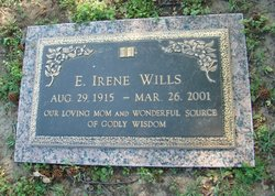 Ethel Irene <I>Sapp</I> Wills