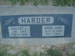 Anna Jane <I>Hathcock</I> Harder