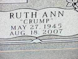 Ruth Ann <I>Crump</I> Cavender