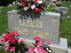 Bessie <I>Green</I> Adams