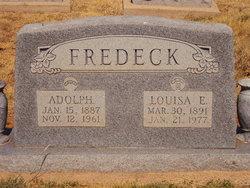 Louisa Elizabeth <I>Massey</I> Fredeck