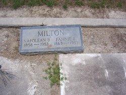 "Frances P. ""Fannie"" <I>Mock</I> Milton"