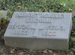 Harriet <I>Hoadley</I> Cochran
