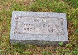 Sarah E. <I>Naugle</I> Barton