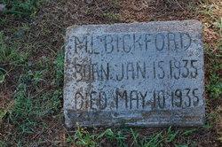 M. L. Bickford